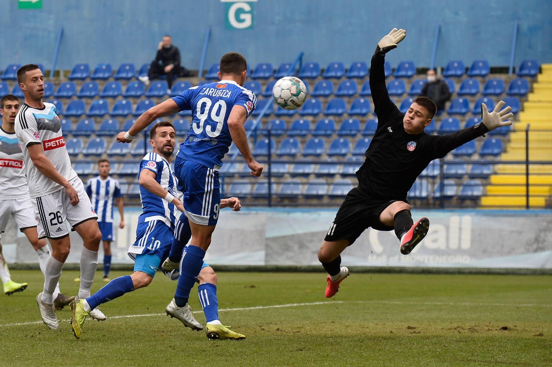 Budućnost i Petrovac kažnjeni novčano  zbog nereda i liše organizacije utakmice