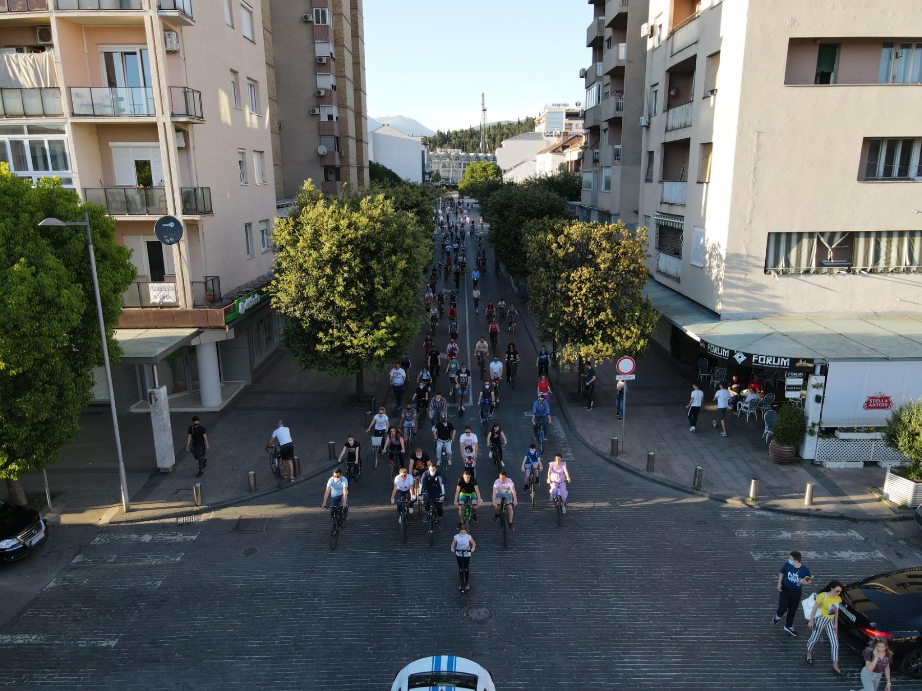 (VIDEO) Vuković: Preko 1000 novih dvotočkaša dokaz da je Podgorica idealna za bicikliste