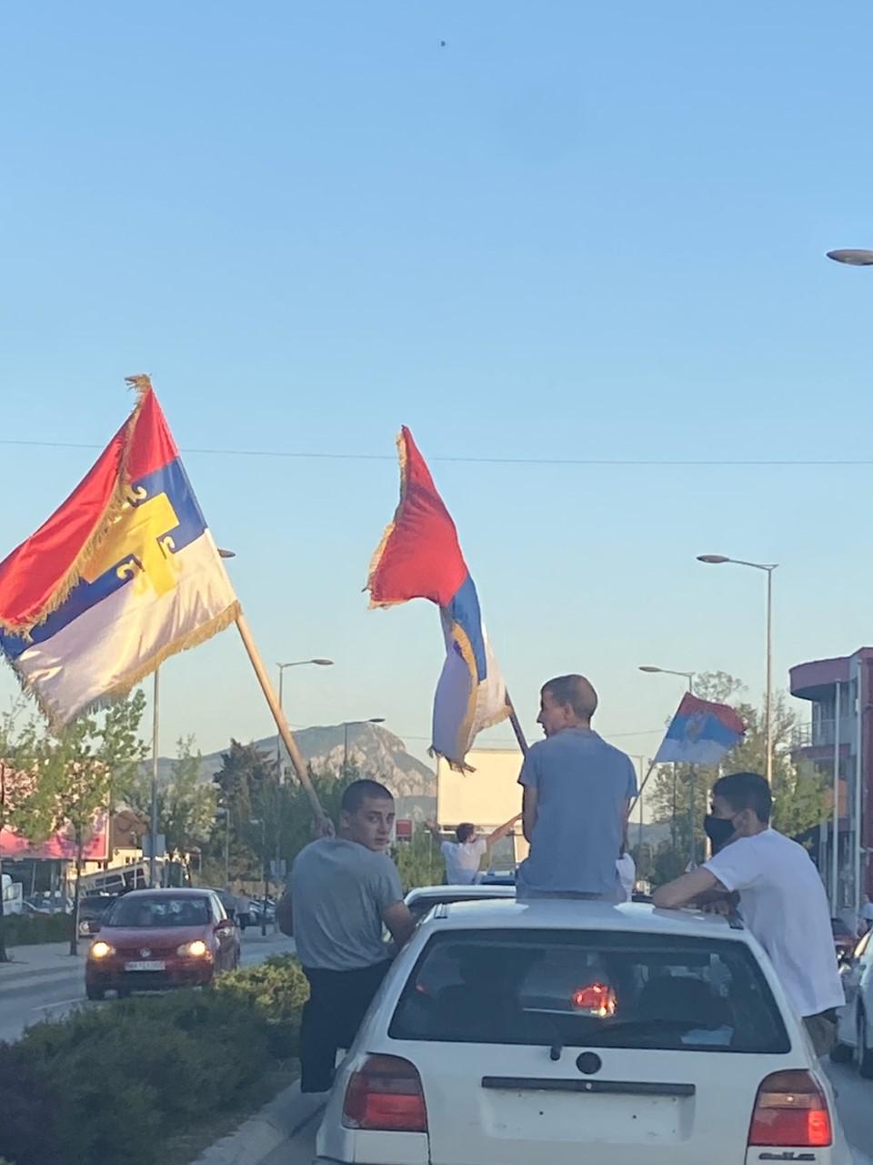 Pristalice DF slavile izbor Kovačevića za predsjednika opštine Nikšić