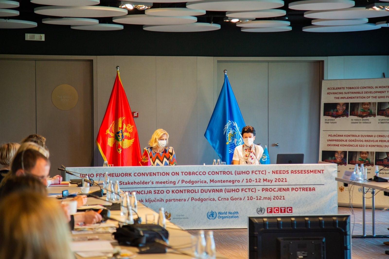 Počele nacionalne multisektorske konsultacije o kontroli upotrebe duvana
