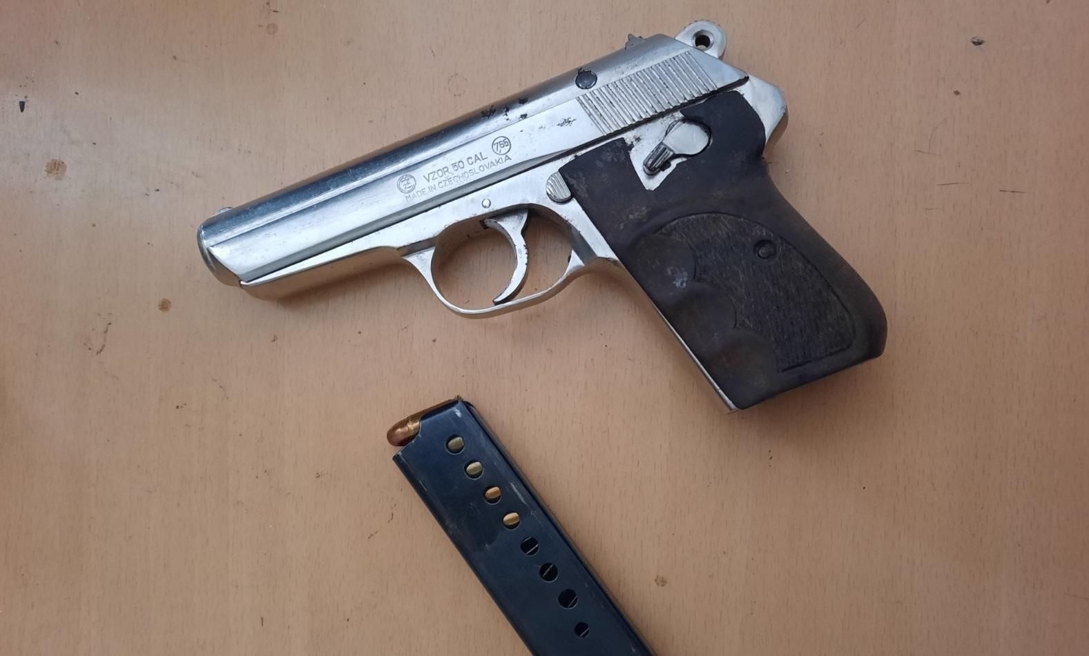 Berane: Krivična prijava bezbjednosno interesantnoj osobi zbog pištolja