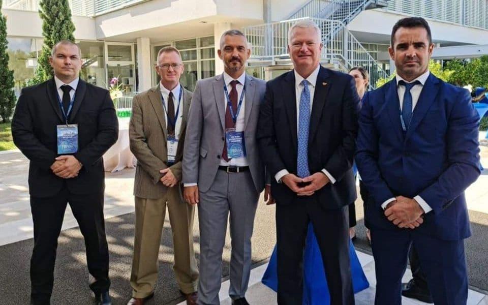Brđanin i Rakonjac učestvovali na FBI NAA konferenciji u Šibeniku