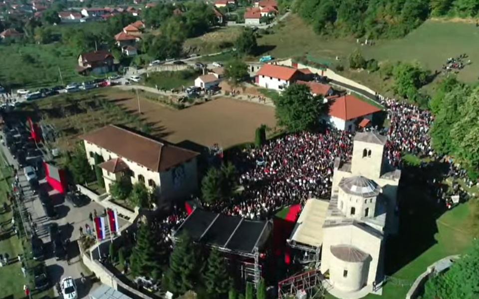 Metodije ustoličen u manastiru Đurđevi stupovi, prisutvovali Krivokapić, Bratić, Vukšić…