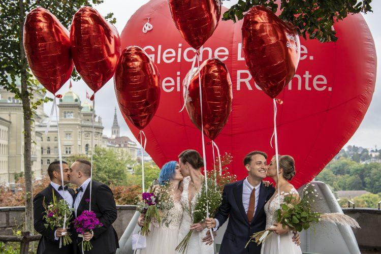 Švajcarska na referendumu rekla da istopolnim brakovima i usvajanju