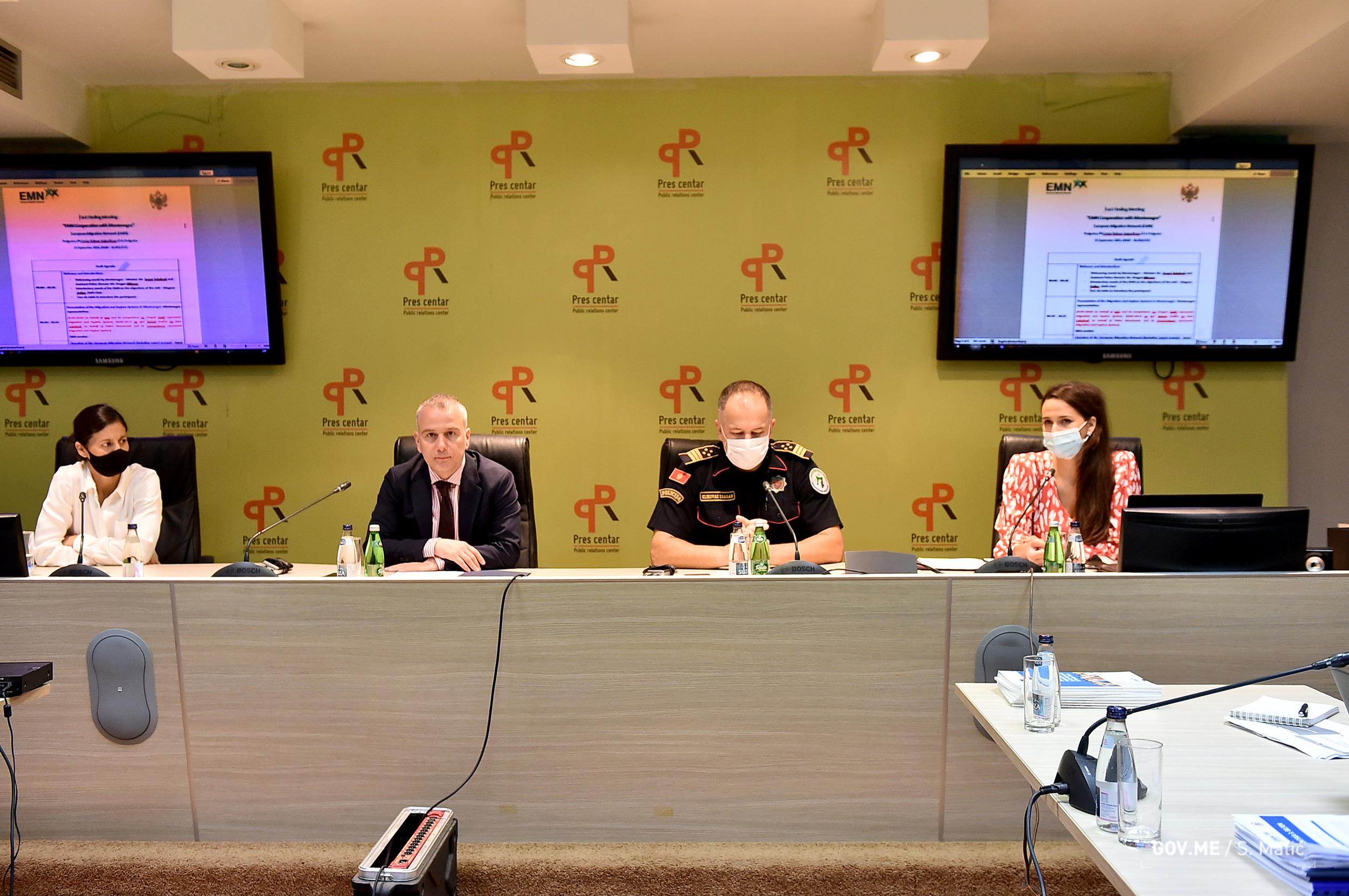 Crna Gora na putu za članstvo u Evropskoj mreži za migracije