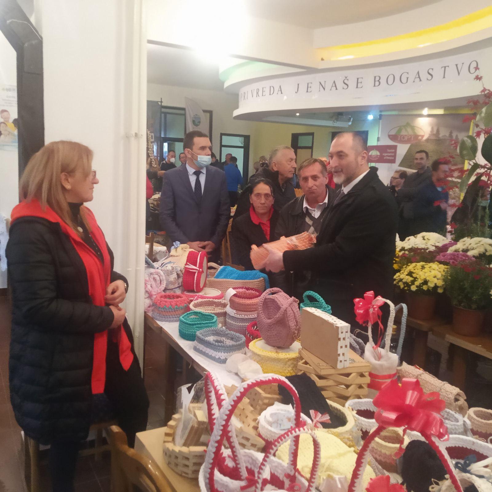 Sajam poljoprivrede u Petnjici: Stijović;  Ministarstvo je imalo i imaće sluha za potrebe proizvođača u Petnjici